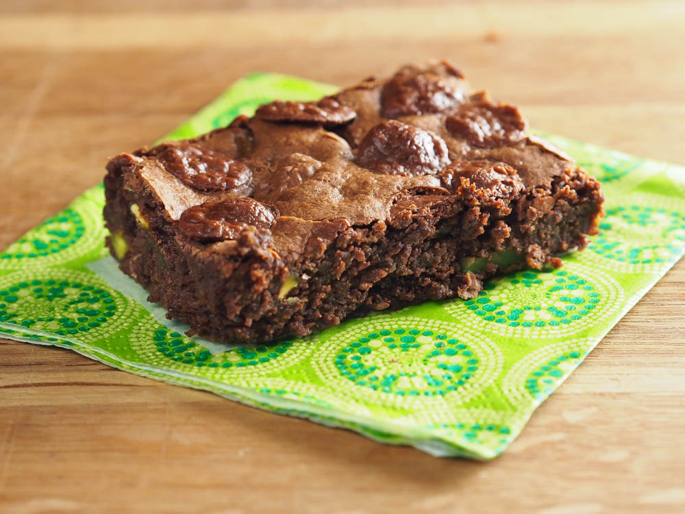 Avokadobrownie