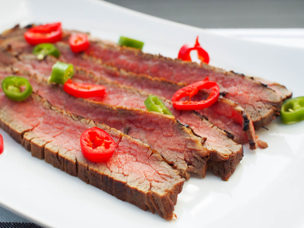 Grillattu flank steak